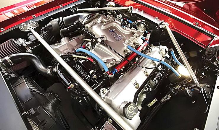 Herb Stuart's 1968 Mercury Cougar with 1999 Mustang SVT Cobra drivetrain