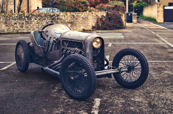 A 100+ Year Old Hot Rod - Sensational JAP V8-Powered GN Aero Cycle Car - ThrottleXtreme