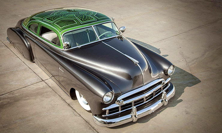 """Lucky Deluxe"" Eric Connors 1950 Chevy Sedan Deluxe"