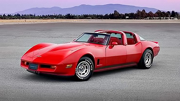 four door 1980 Chevrolet Corvette C3