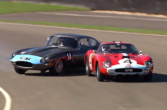 $38 million Ferrari 250 GTO almost wrecked by Jaguar