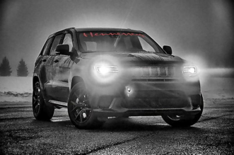 HPE1200 Jeep Trackhawk by Hennessey