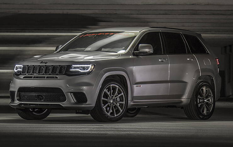 Hennessey Jeep Grand Cherokee Trackhawk Makes 1 200 Hp And Runs