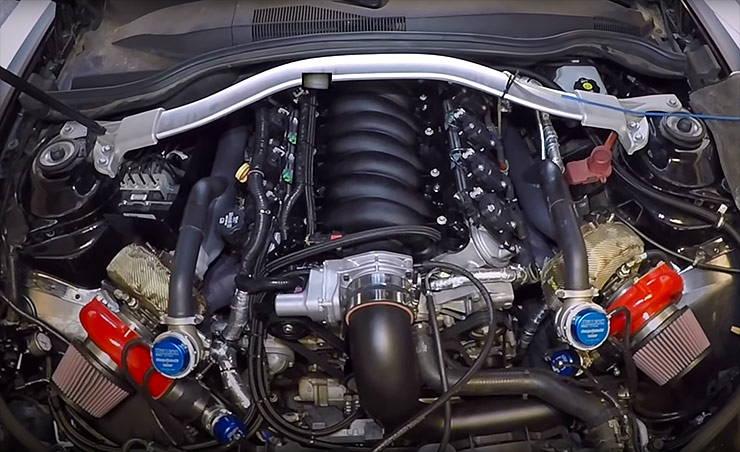 LSX 427 Twin Turbo ZL1 Camaro