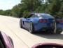 1200hp Viper vs 1500hp Corvette street race