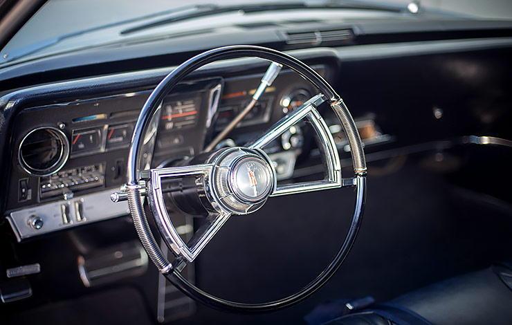 1966 Oldsmobile Toronado interior