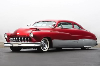 1950 Mercury Cool 50 Custom by Richard Zocchi