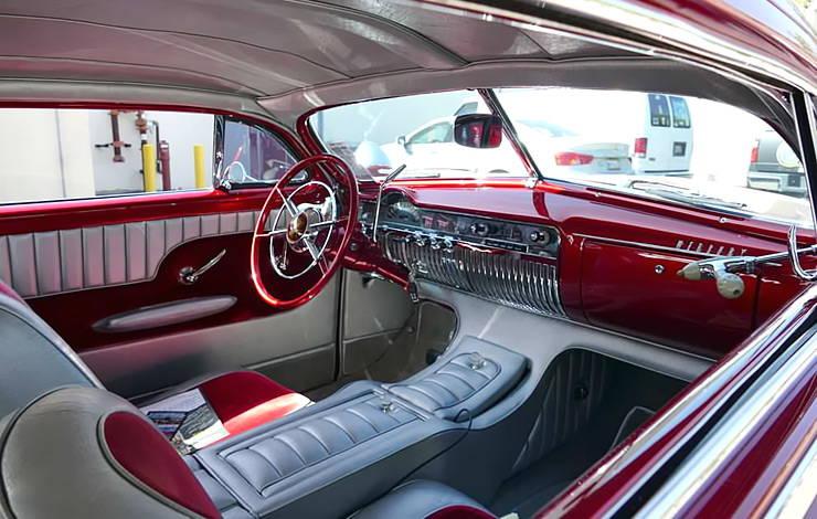 1950 Mercury Cool 50 interior