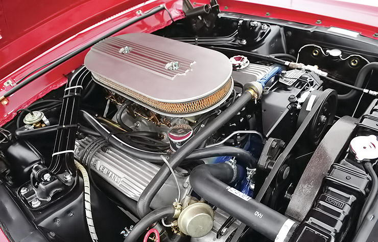1967 Shelby GT500 convertible engine
