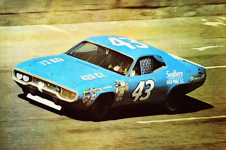 1971 Plymouth Road Runner raced by Richard Petty