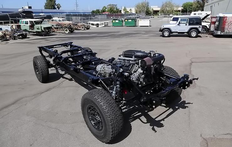 Dodge MegaCab 4x4 pickup truck chassis