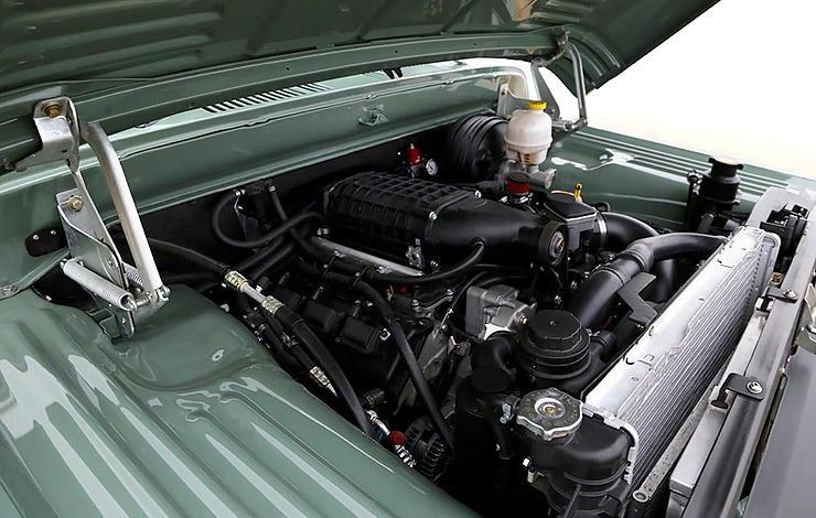 Dodge Power Wagon ICON Reformer HEMI engine