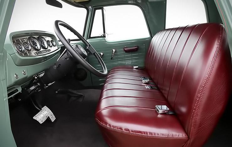 Dodge Power Wagon ICON Reformer interior