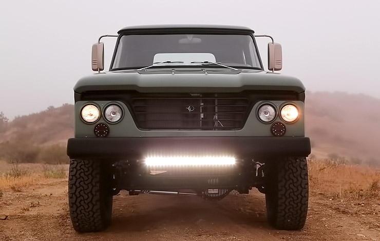 Dodge Power Wagon hemi restomod by Icon
