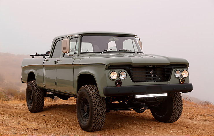 ICON D200 Power Wagon Crew Cab Reformer front
