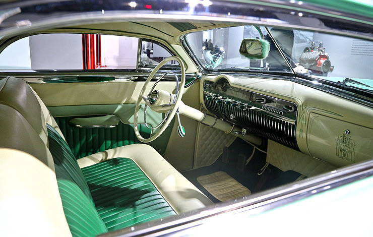 1951 Mercury Club Coupe by Barris Kustoms interior