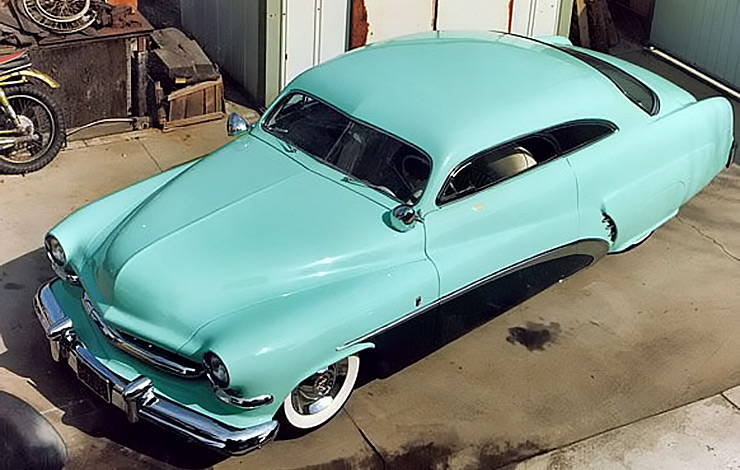 1951 Mercury Club Coupe by Barris Kustoms