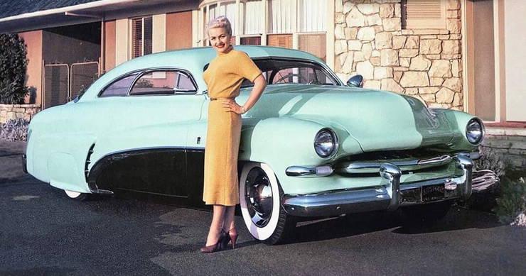 1951 Mercury Club Coupe by Sam Barris