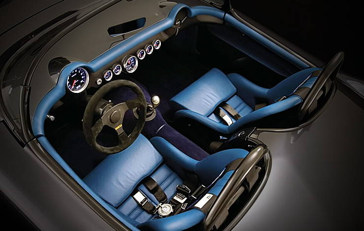 1954 Corvette ZR1 LS9 nicknamed Death Star interior