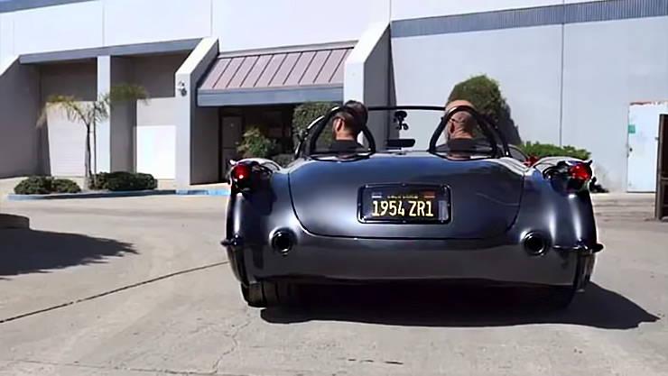 1954 Corvette ZR1 LS9 nicknamed Death Star rear