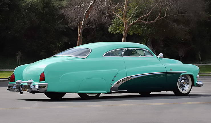 Bob Hirohatas Custom Mercury rear