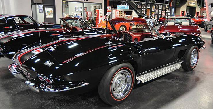Rick Hendricks 1967 Corvette convertible