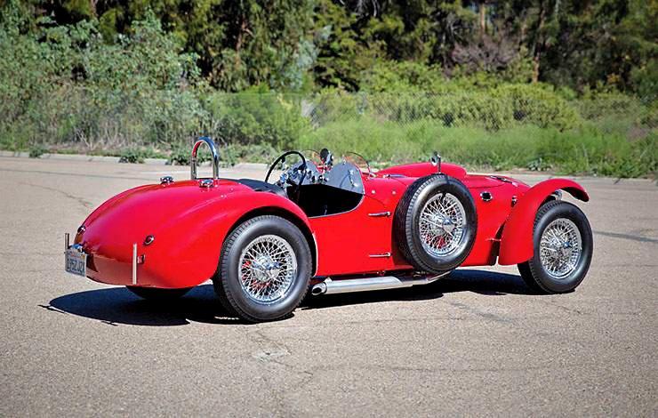 1952 Allard J2X right side