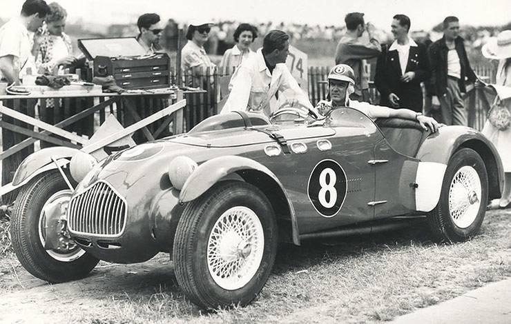 1952 Allard J2X vintage photo