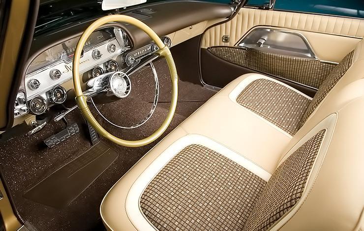 1957 DeSoto Adventurer interior