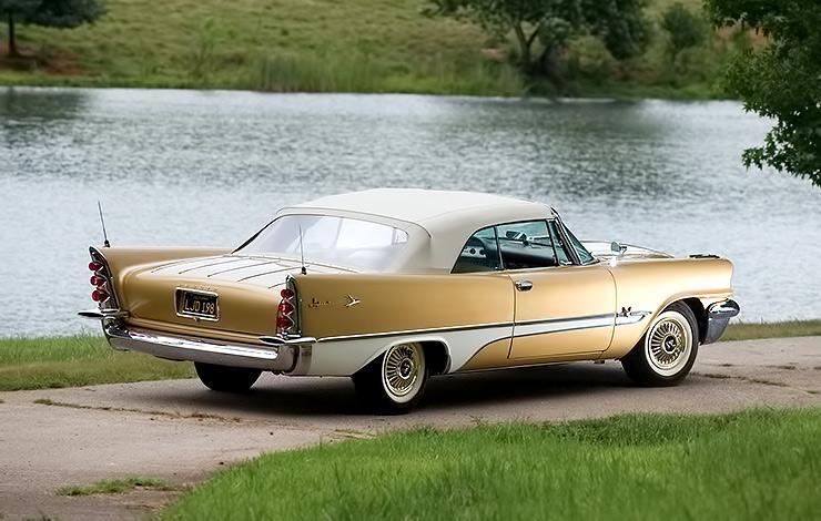 1957 DeSoto Adventurer rear end