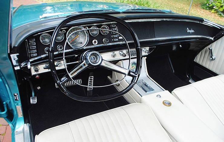 1963 Chrysler 300 Pace Setter dashboard