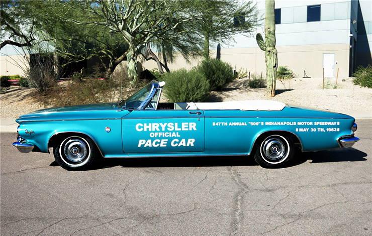 1963 Chrysler 300 Pace Setter left side