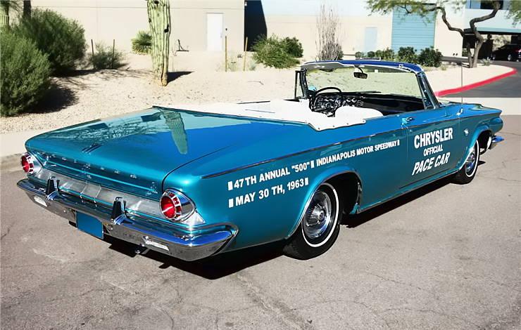 1963 Chrysler 300 Pace Setter rear end