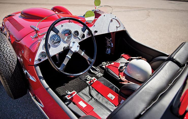 Allard J2X cockpit