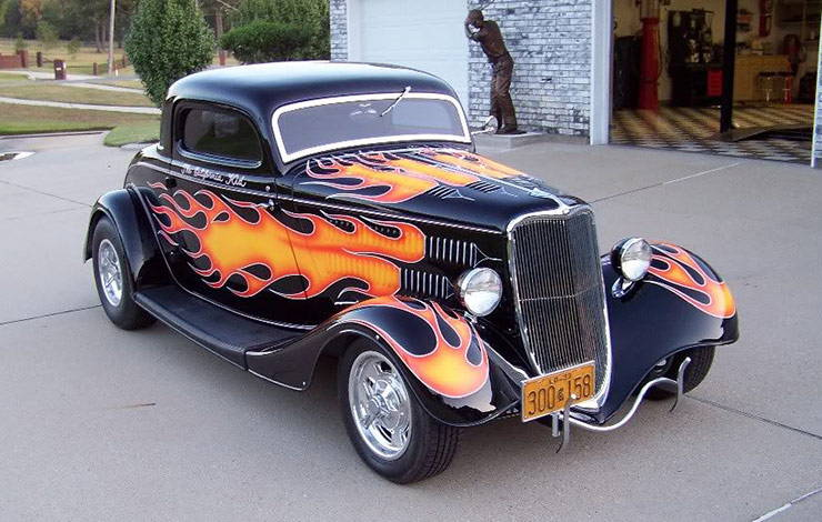 The California Kid 34 Ford hot rod front