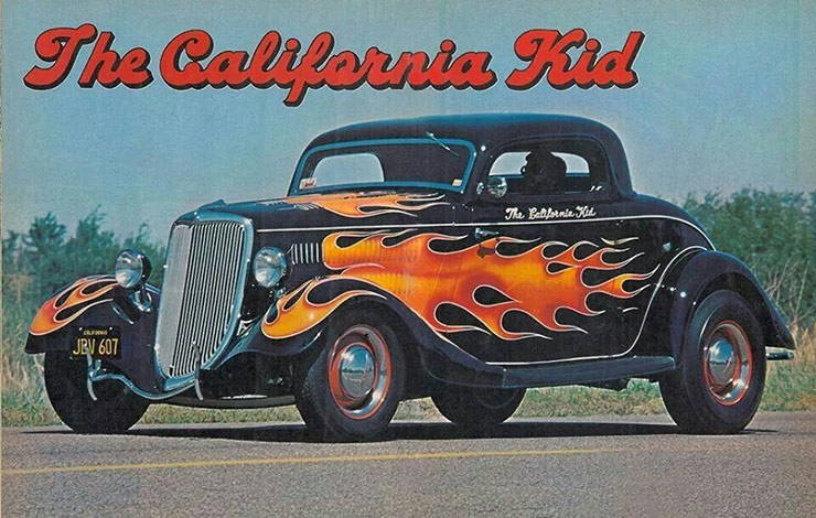 The California Kid 34 Ford hot rod street rod