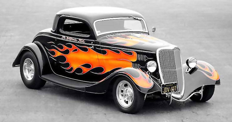 The California Kid hot rod