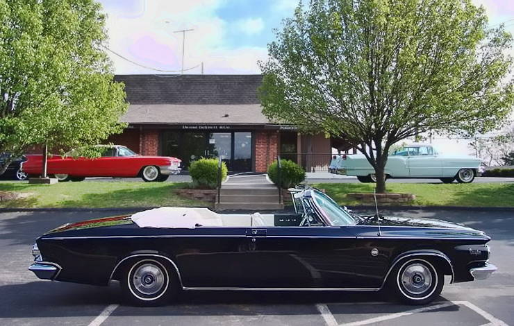 The one and only1963 Chrysler 300 Pace Setter in black color