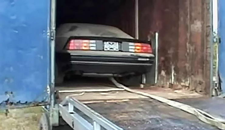 brand new 1985 IROC Z28 discovered in truck trailer