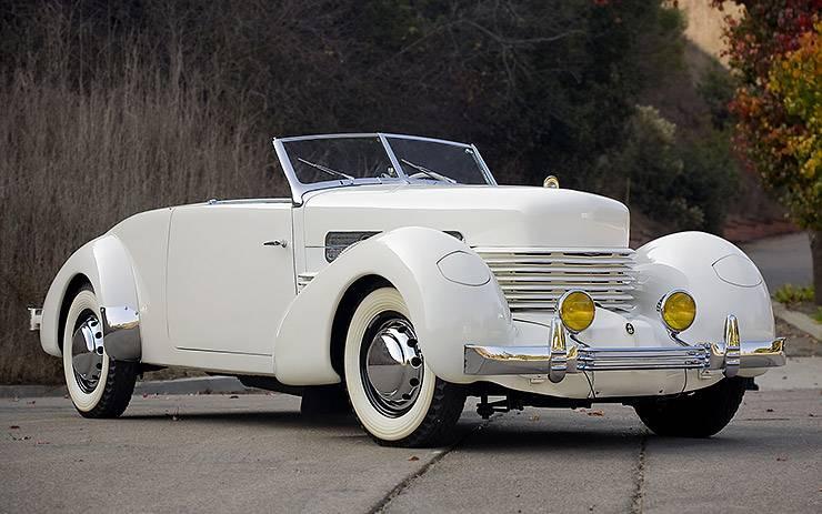 1936 Cord 810 Phaeton convertible