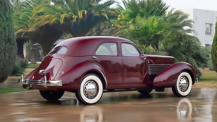 1936 Cord 810 Westchester right