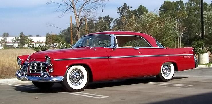 1956 CHRYSLER 300 B front left