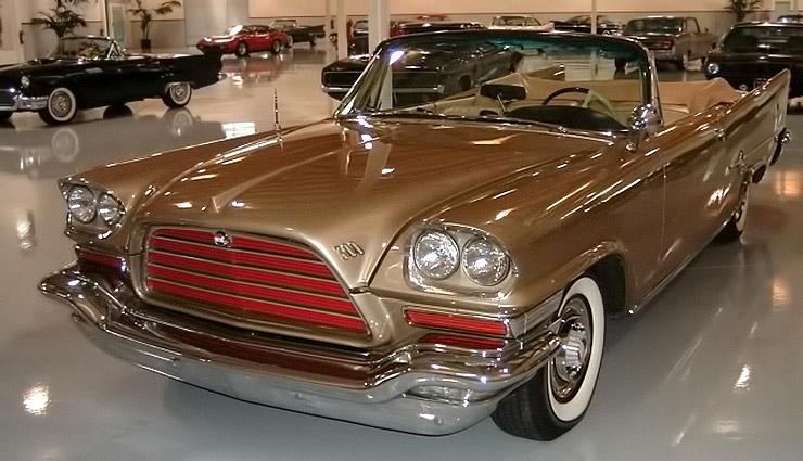 1959 Chrysler 300 E front