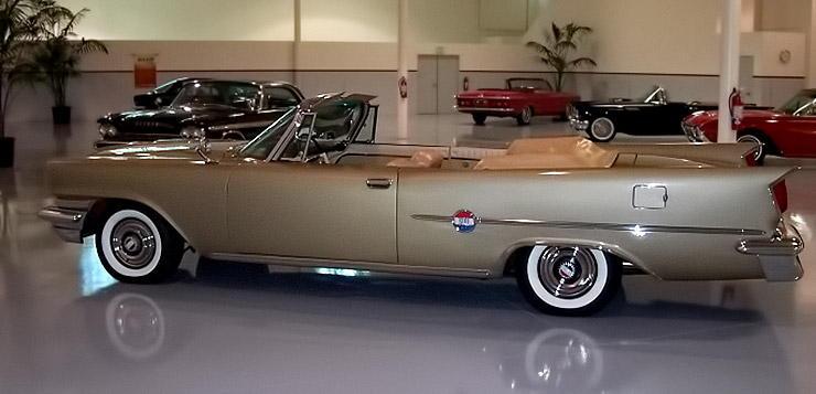 1959 Chrysler 300 E left