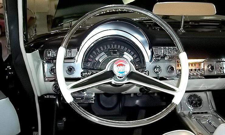 1960 Chrysler 300 F dashboard
