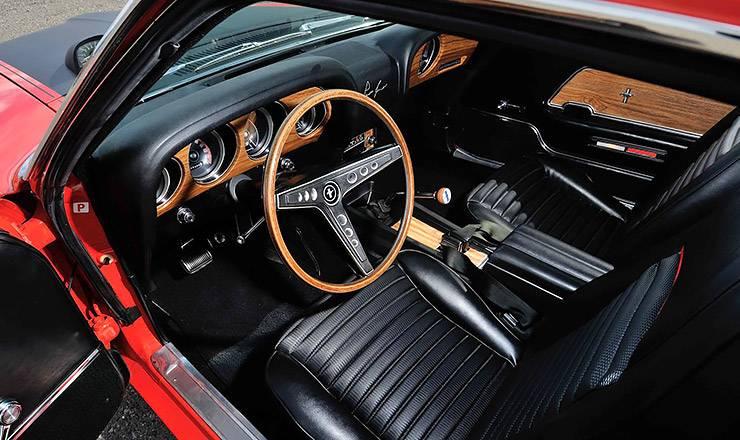 1969 Ford Mustang Boss 302 interior