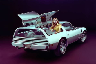 1977 Pontiac Firebird station wagon concept car