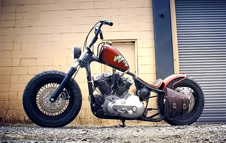 Looky Looky bobber by Nash Motorcycles