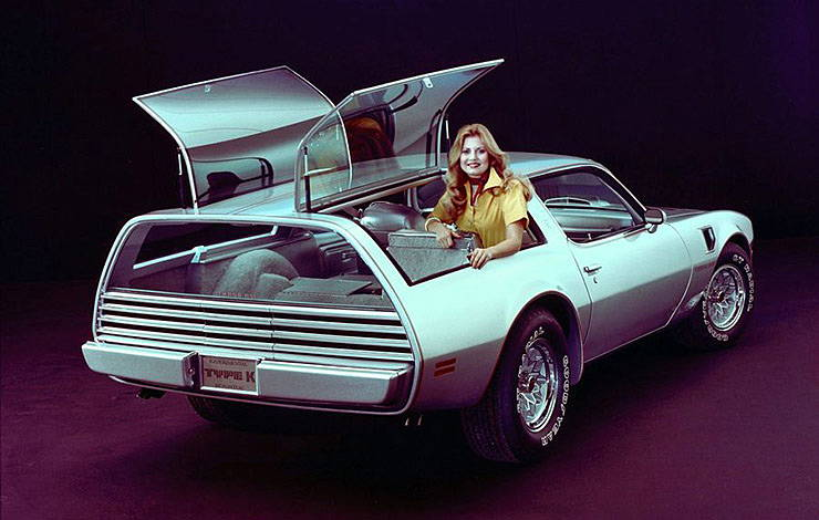Pontiac Type K concept GM publicity photo