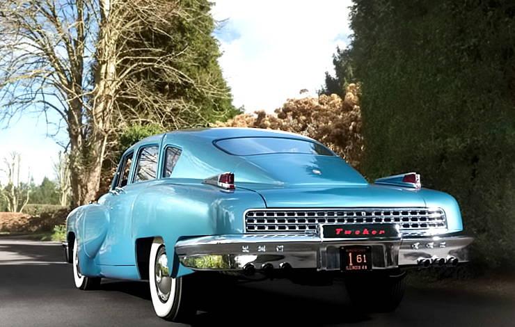 Tucker 48 blue rear